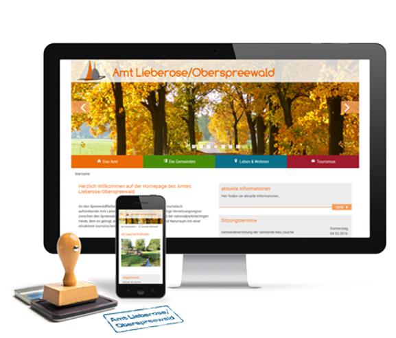 Responsive Homepage Amt Lieberose